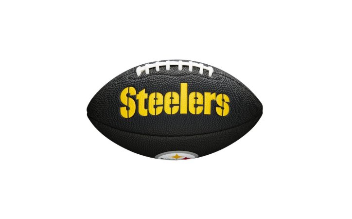 Bola de Futebol Americano NFL Black Pittsburgh Steelers
