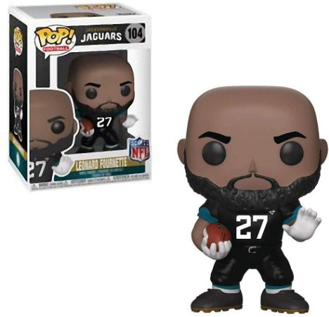 Funko POP! NFL - Leonard Fournette #104 - Jacksonville Jaguars