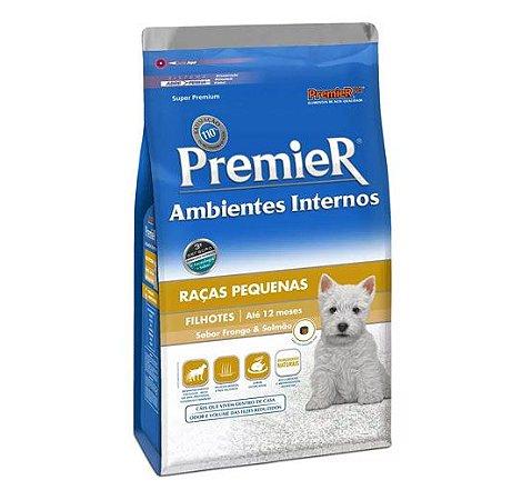 Ração para Cachorro Filhote Premier Ambientes Internos Raças Pequenas 1kg
