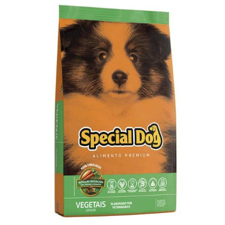 SPECIAL DOG JUNIOR VEGETAIS 10 Kg