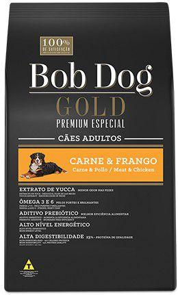 BOB DOG GOLD CARNE E FRANGO 15Kg
