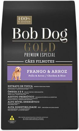 BOB DOG GOLD FRANGO E ARROZ FILHOTE 15 KG