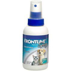 Antipulgas e Carrapatos Frontline Spray para Cães e Gatos 100 ml