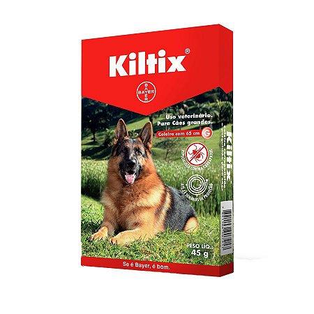 Coleira Antiparasitário Kiltix para Cães acima de 20 kg tamanho G - BAYER