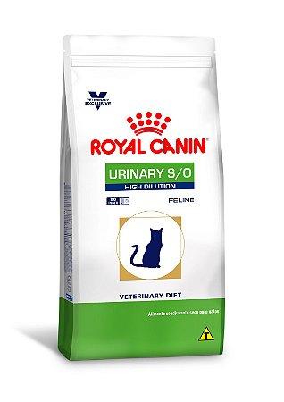 URINARY S/O HIGH DILUTION ROYAL CANIN (GATOS) 1.5 Kg