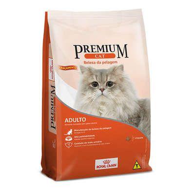 Ração Royal Canin Premium Cat Beleza da Pelagem para Gatos Adultos 10 Kg