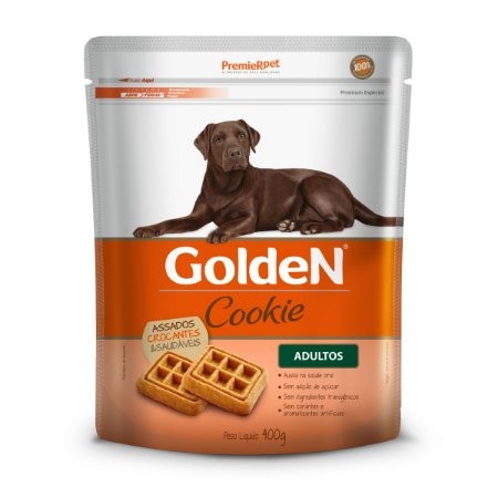 GOLDEN COOKIE CÃES ADULTOS 400 Gramas