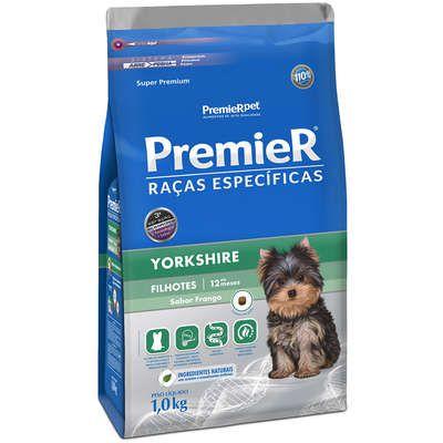 Ração Premier Pet Raças Específicas Yorkshire Filhotes 1 Kg