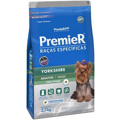 Ração Premier Pet Raças Específicas Yorkshire Filhotes 2,5 Kg