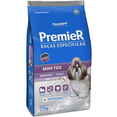 Ração Premier Pet Raças Específicas Shih Tzu Adulto 7,5 Kg