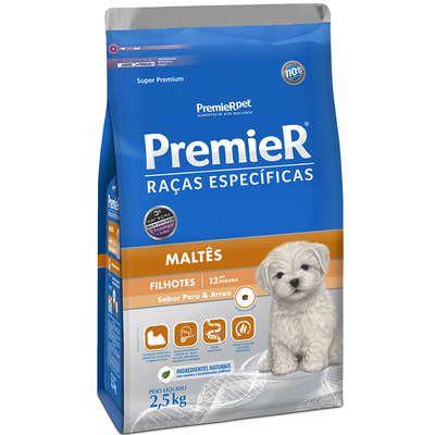 Ração Premier Pet Raças Específicas Maltês Filhotes - 2,5 Kg