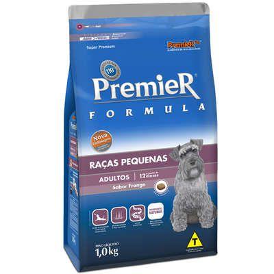 Ração Premier Pet Formula Cães Adultos Raças Pequenas 1 kg