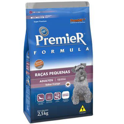 Ração Premier Pet Formula Cães Adultos Raças Pequenas 2,5 Kg