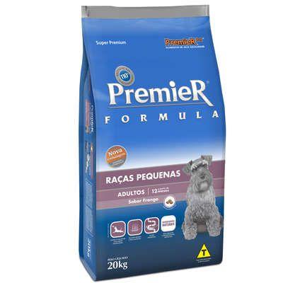 Ração Premier Pet Formula Cães Adultos Raças Pequenas 20 Kg