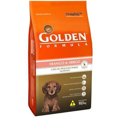 Ração Premier Golden Formula Cães Filhotes Mini Bits Frango e Arroz 10 Kg