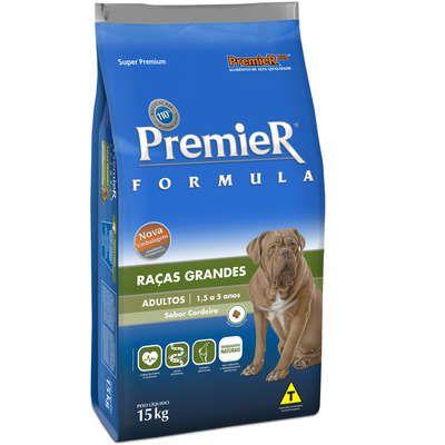 Ração Premier Fórmula Carne de Cordeiro para Cães Adultos de Raças Grandes e Gigantes 15 Kg