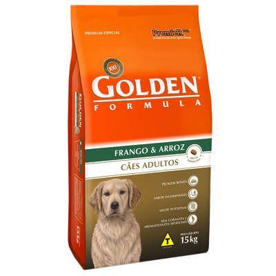 Ração Premier Golden Formula Cães Adultos Frango e Arroz 15 Kg
