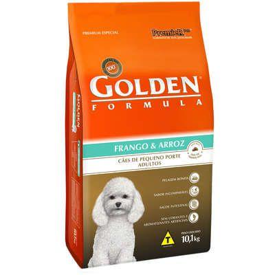 Ração Premier Golden Formula Cães Adultos Frango e Arroz Mini Bits 10 K g