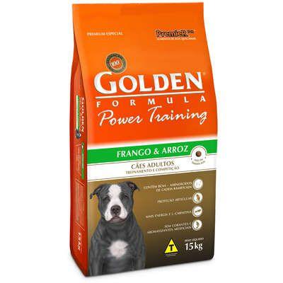 Ração Premier Golden Power Training Cães Adultos Frango e Arroz - 15 Kg