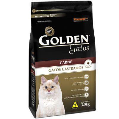 Golden Carne para Gatos Castrados 3 kg