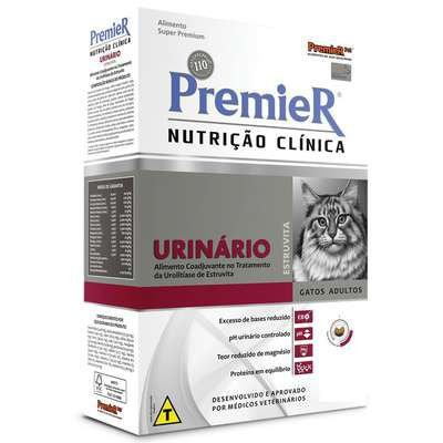 Ração Premier Nutrição Clínica para Gatos Urinário 1,5 kg