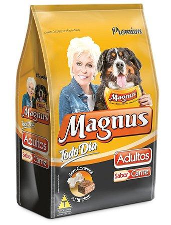 Ração Magnus Premium Todo Dia Cães Adultos Sabor Carne 15 Kg