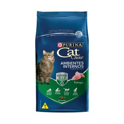 Cat Chow Ambientes Internos 3 kg