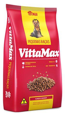 VITTAMAX PEQUENAS RAÇAS 15 kg