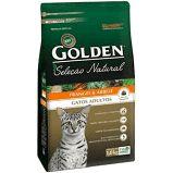 Ração Golden Premier Pet Seleção Natural para Gatos Adultos 10.1 kg