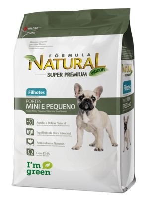 Fórmula Natural Super Premium Cães Filhotes Portes Mini e Pequeno 7,5 kg