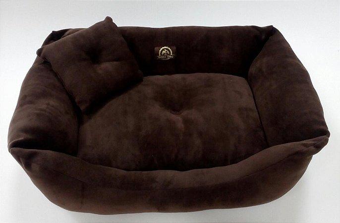 cama stilo dog facinio puchi chocolate tamanho m