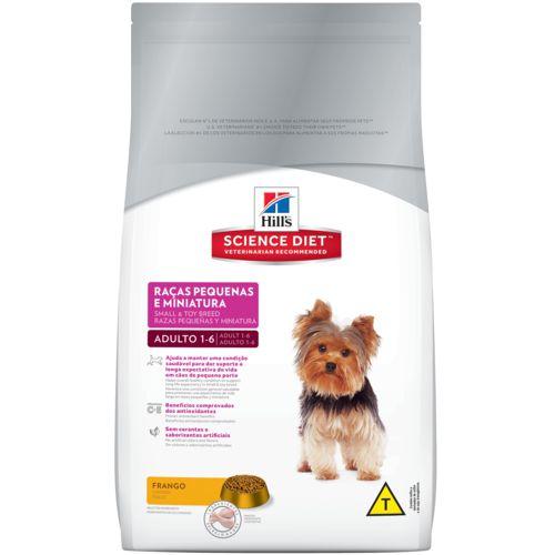 Hill's™ Science Diet™ Canino Adulto Raças Pequenas e Miniatura 3 kg