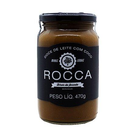 Doce De Leite Com Café Tradicional Rocca 470g com Açúcar