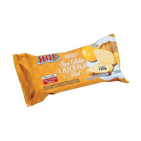 Bolo de Laranja Zero Hué (Sem Adição de Açúcares) Sem Glúten Sem Lactose 120g
