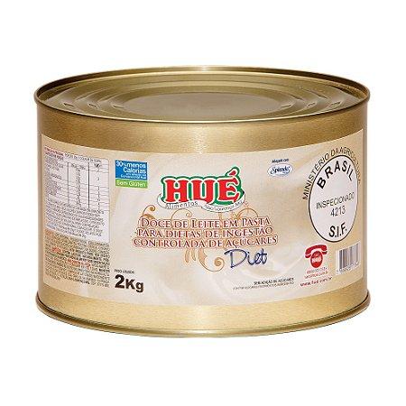 Doce de Leite Diet Hué (Sem Adição de Açúcares) Sem Glúten 2,0 KG
