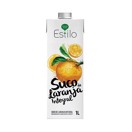 Suco de Laranja Integral + Estilo 1 Litro Sem Adição de Açúcares e Água