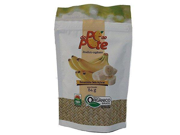 Saquinho com Bananinhas 84g Sem Adição de Açúcar Sem Glúten Sem Lactose Do Pé ao Pote