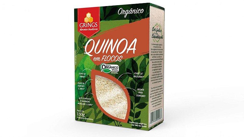 Quinoa em Flocos Orgânica 150g Grings Alimentos