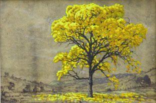 Obra Ipê 20 x 30 Atelier de Pintura Jonas Lemes Cód. ref. 762