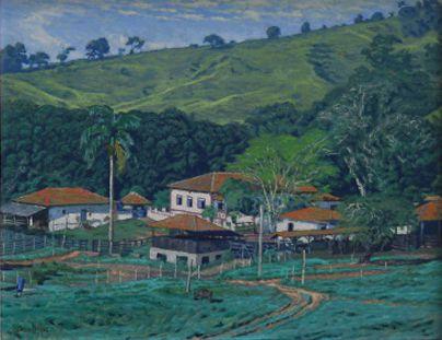Obra Fazenda 40 x 50 Atelier de Pintura Jonas Lemes Cód. ref. 449
