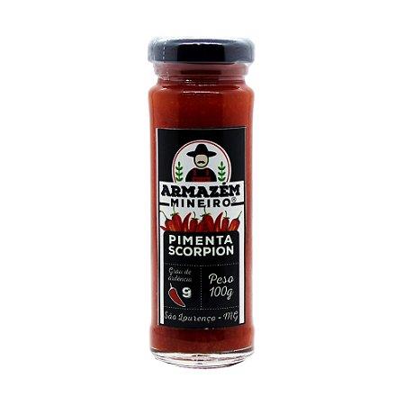 Pimenta Scorpion 100g Armazém Mineiro 100% Artesanal Ardência Grau 09