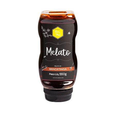 Mel Melato De Bracatinga Puro De Abelha 550g - Apiário Flor de Mel - Premium
