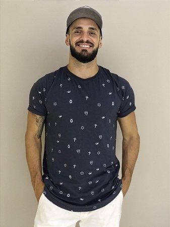 Camiseta Long Line Geração