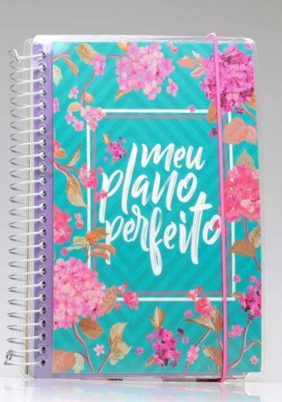 Meu Plano Perfeito | Capa Flores | Planner