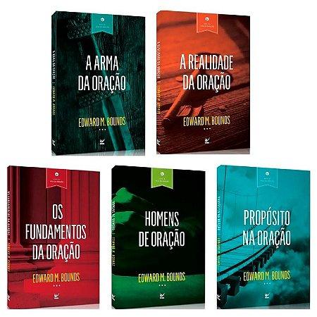 KIT SÉRIE VIDA DE ORAÇÃO - EDWARD M BOUNDS - 5 LIVROS