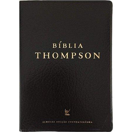 Bíblia de Estudo Thompson | AEC | Letra Média | Capa Luxo | Preta