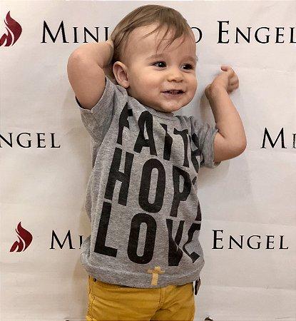 Faith Hope Love Infantil