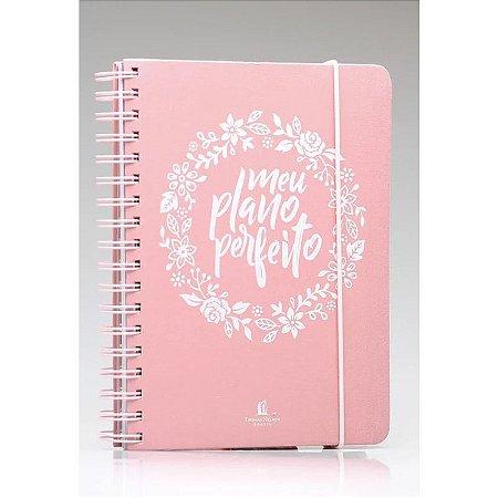 Meu Plano Perfeito | Capa Tecido | Planner Permanente