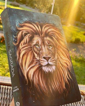 Bíblia Sagrada | RC | Letra Gigante | Soft Touch | Leão Aslam