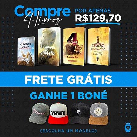Kit Livros + Boné